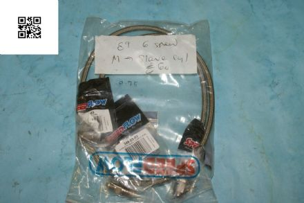 1989 Corvette C4 6-Speed Master Cylinder- Slave Cylinder Cable, New Box C